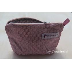 Handtaschentäschli Blumen klein rosa